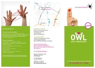 OWL goes Fundraising WEB